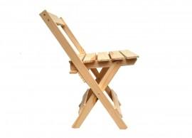 Cadeira de Bar Dobrável de Madeira
